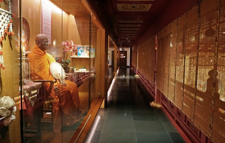 Budda Tooth Relic Temple posągi Singapur