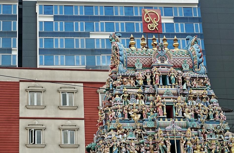 Świątynia Sri Veeramakalim w Singapurzeman