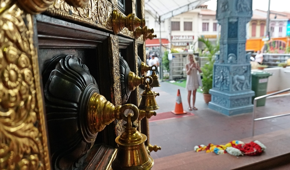 Wejście do świątyni Sri Veeramakalimman