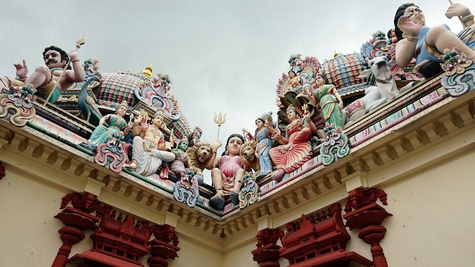 Sri mariamman temple  Singapur
