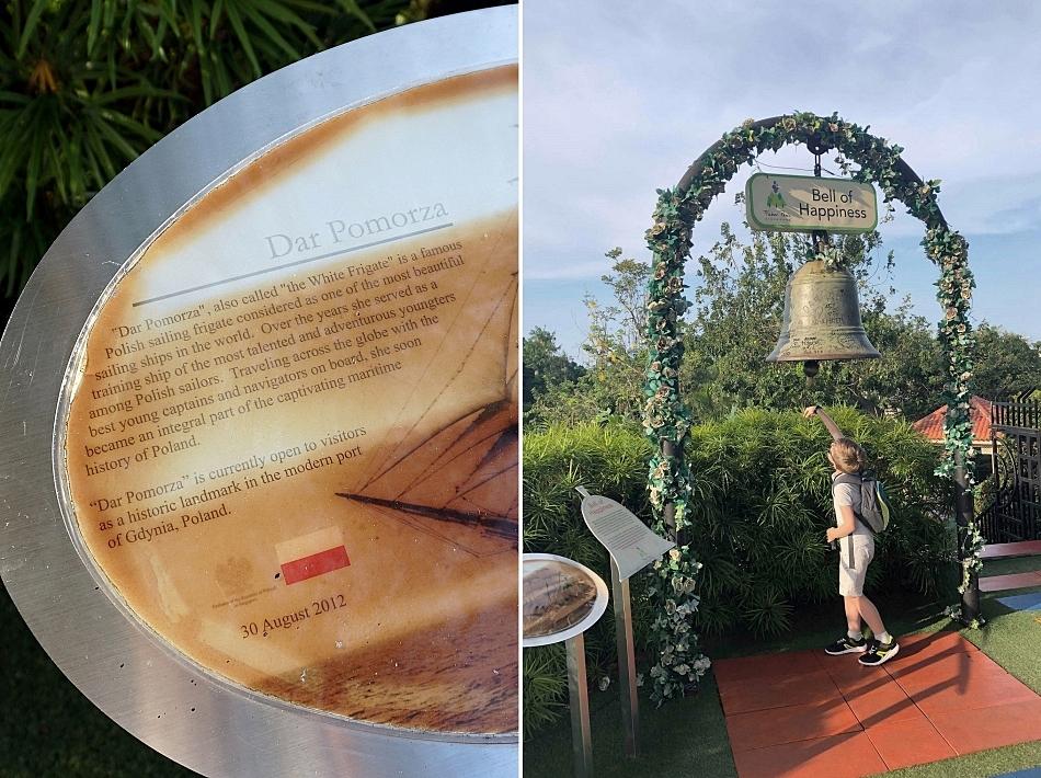 Dzwon Dar Pomorza w Singapurze