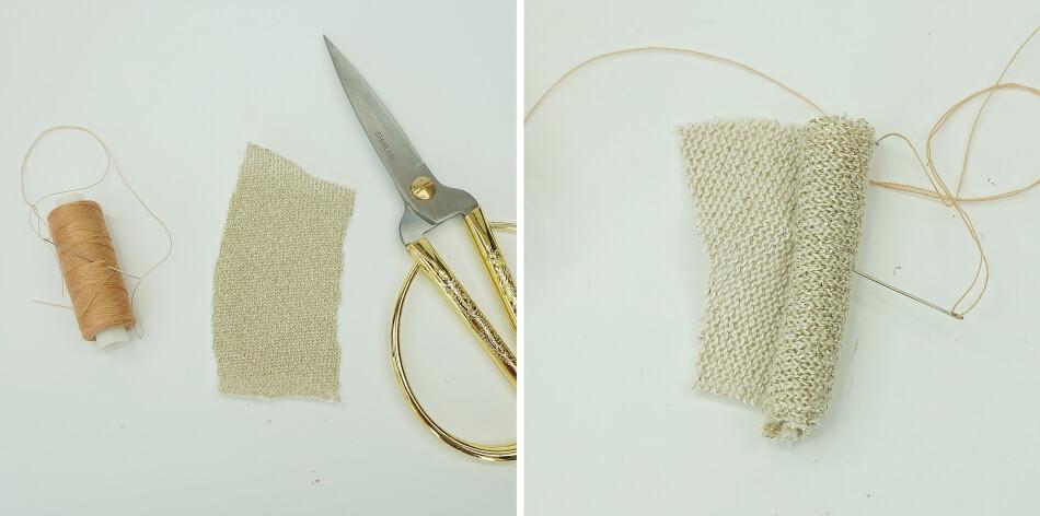 złoty materiał na dynie
