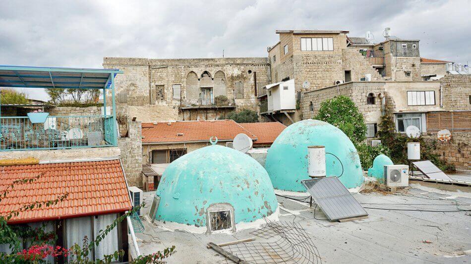 akka izrael stare miasto zabudowania meczet