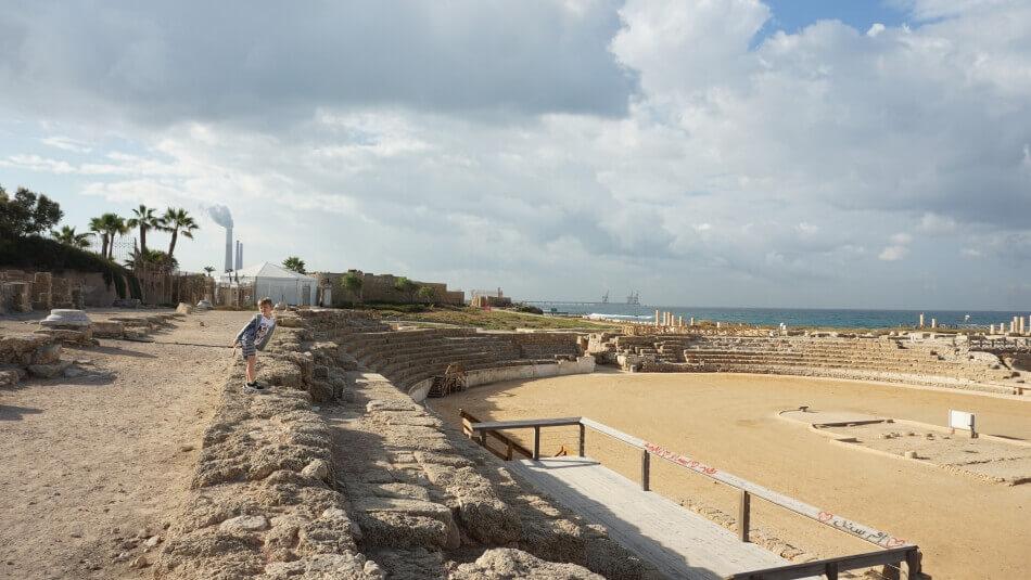 Hipodrom rzymski cezarea nadmorska izrael północny