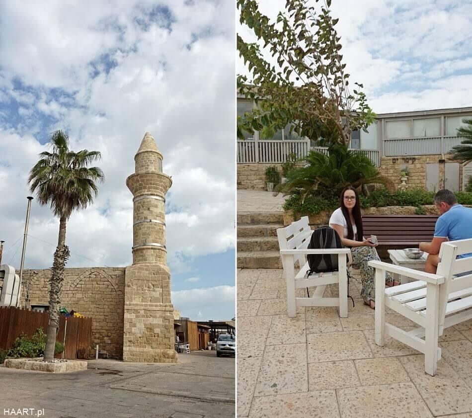 Meczet w Cezarea nadmorska izrael północny