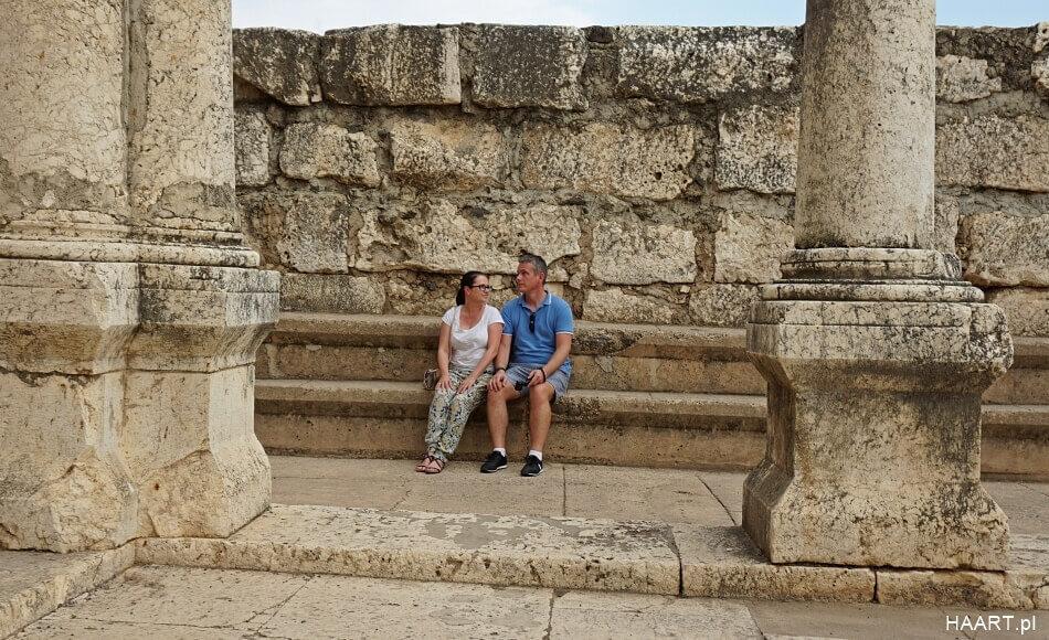 Synagoga w Kafarnaum izrael
