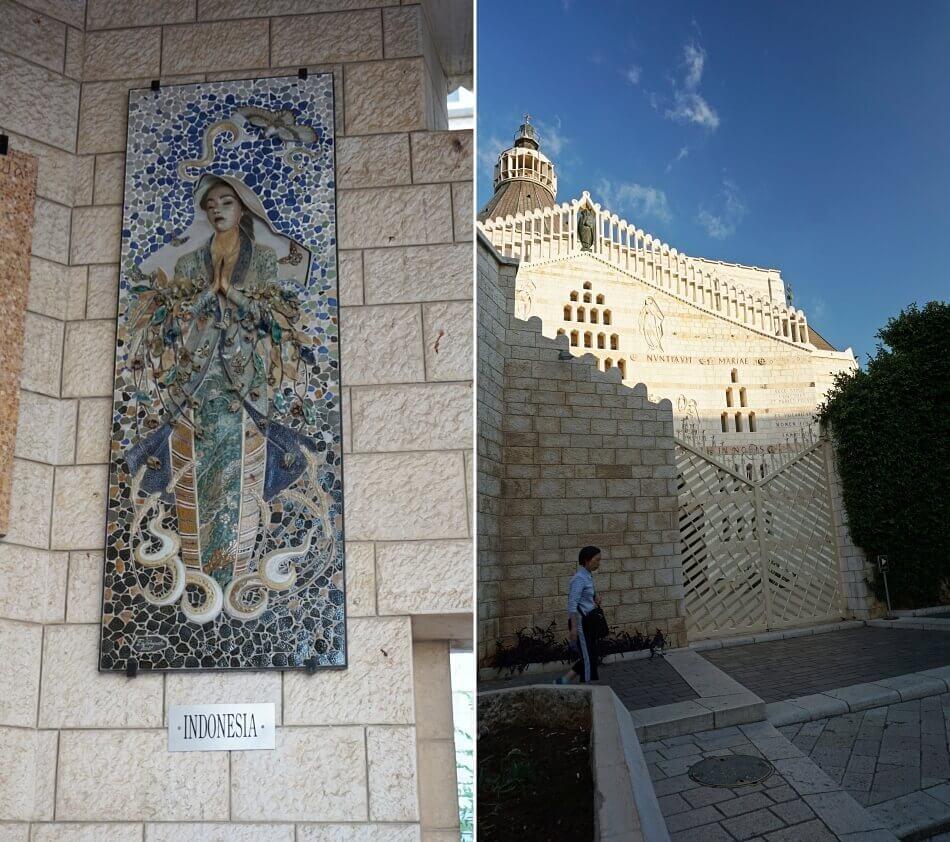 wizerunek matki boskiej indonezja nazaret izrael