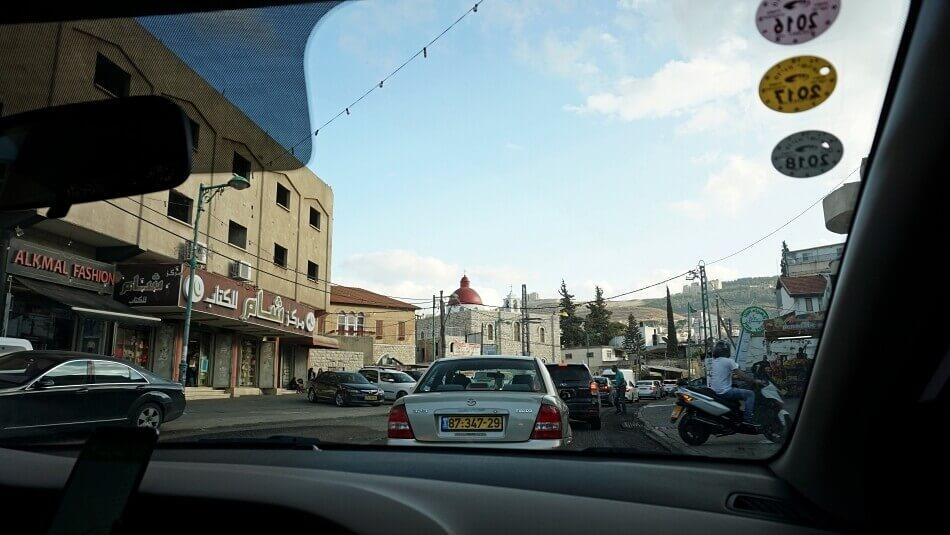 izrael północny samochodem na własną rękę nazaret