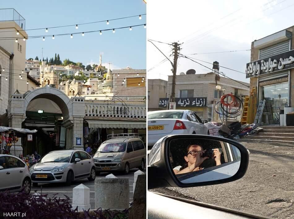 Izrael Północny samochodem  nazaret