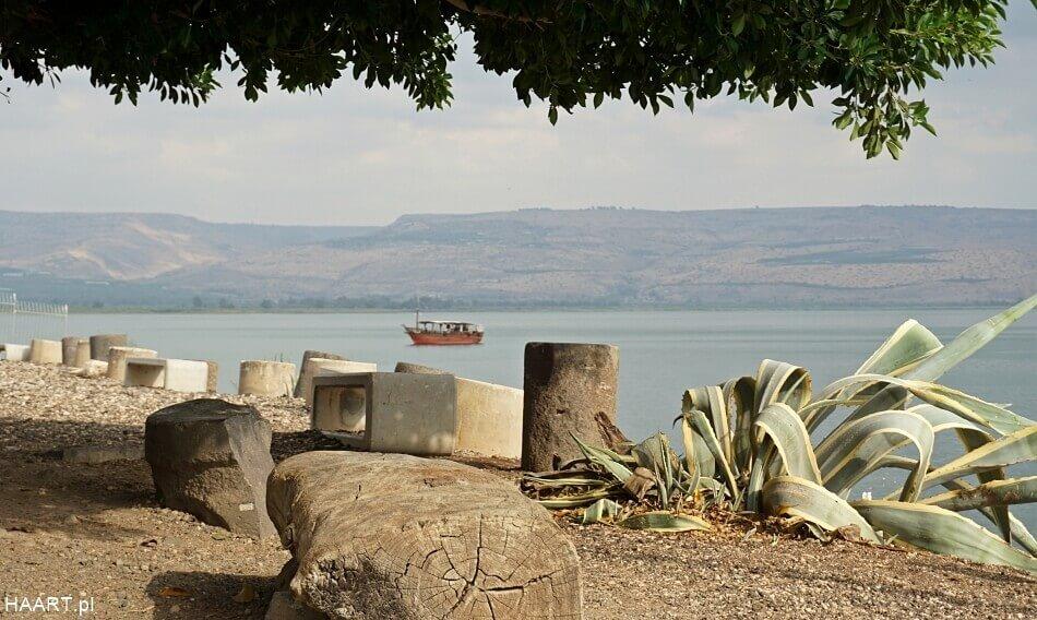 jezioro tyberiadzkie kafarnaum izrael północny