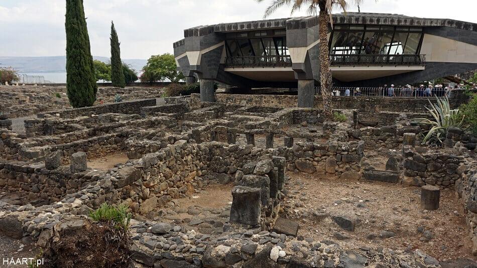 Insule w Kafarnaum w Izraelu