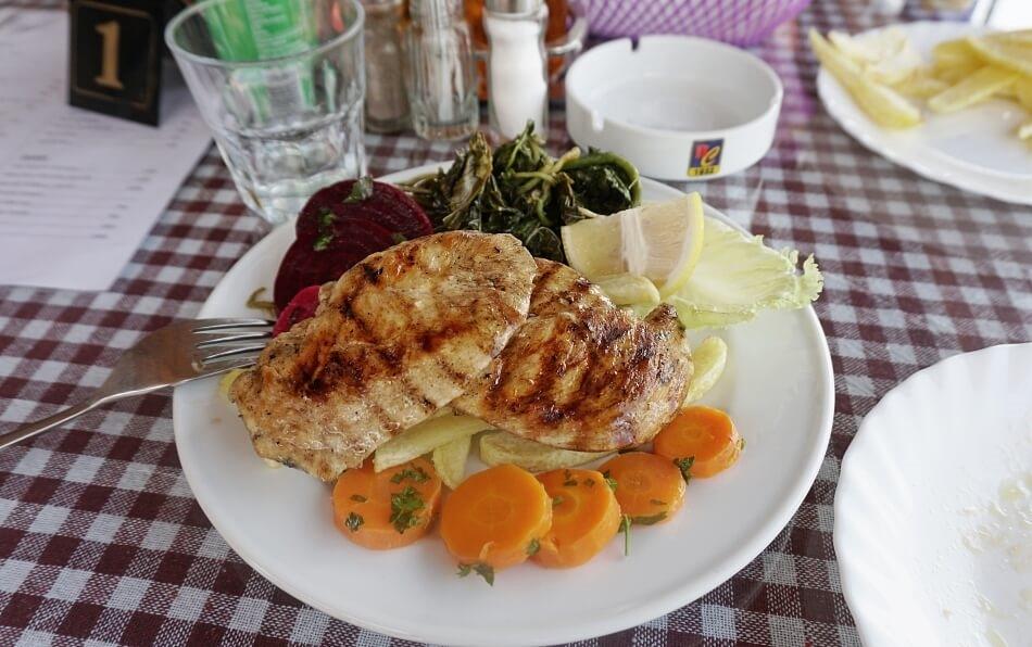 Albania Le5stella restauracja