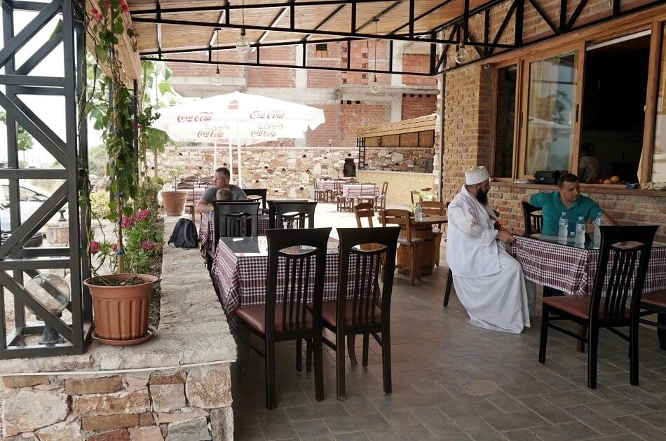 Albania południowa restauracja le 5 stella