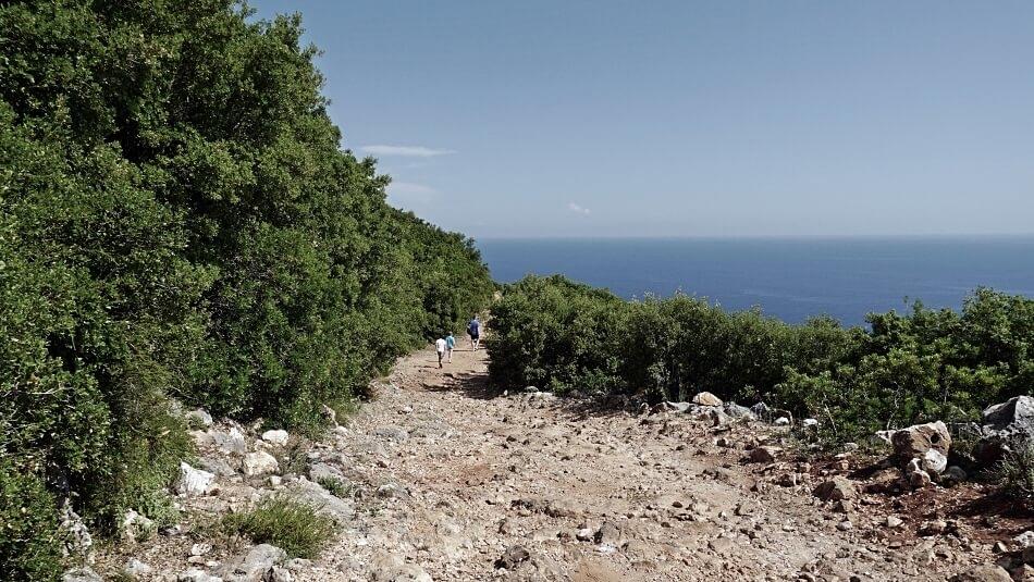 Droga do plaży Gjipe