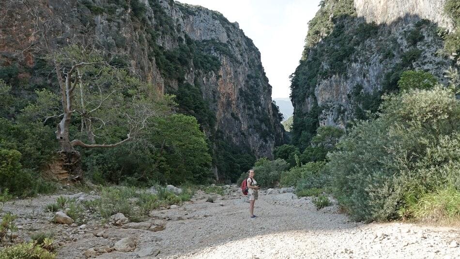 Kanion Gjipe w Albanii