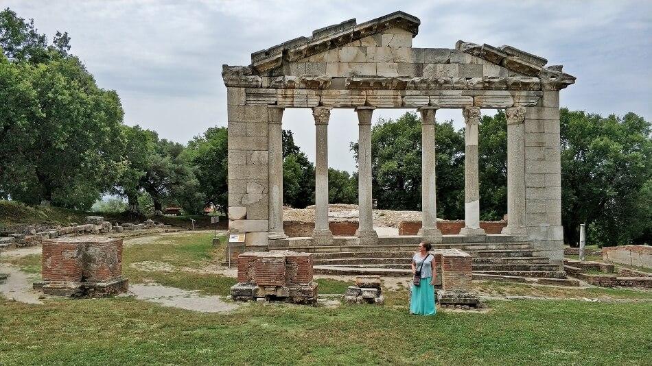 Apollonia w Albanii