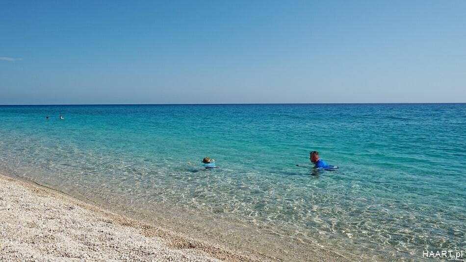 Plaża Gjipe w Albanii