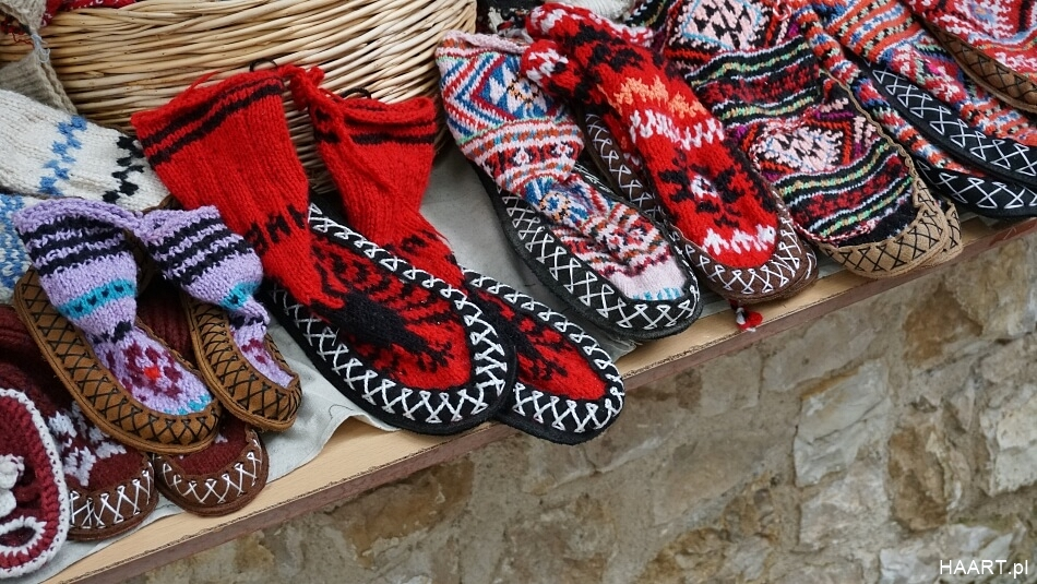 Pamiątki z Albanii