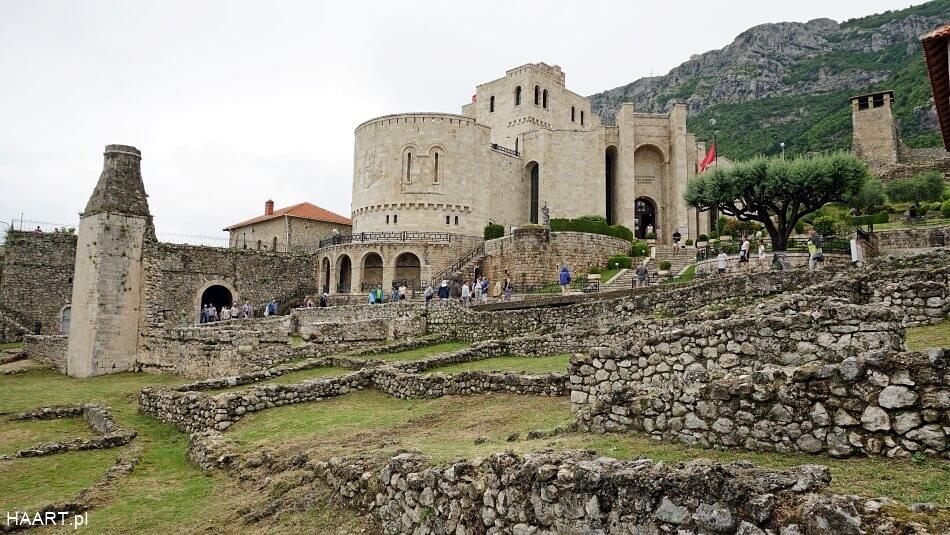 Zamek w Kruje Albania
