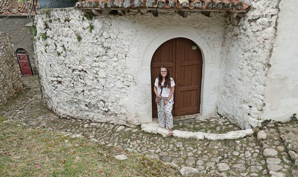 Albania północna zamek Kruje