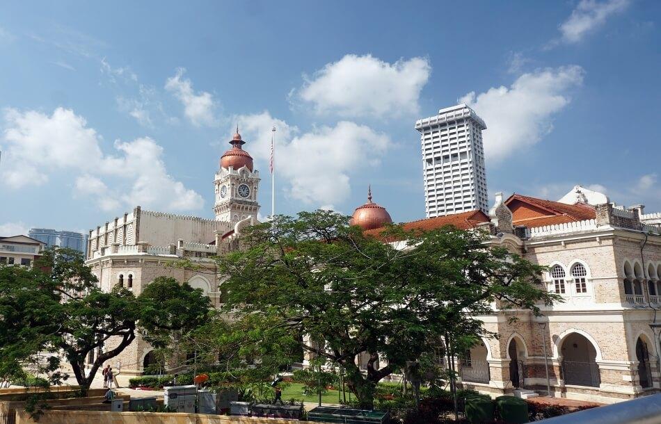 Pałac sułtana Abdula Samada panorama