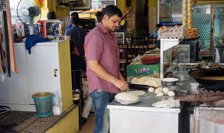 bar street food w kuala lumpur malezja