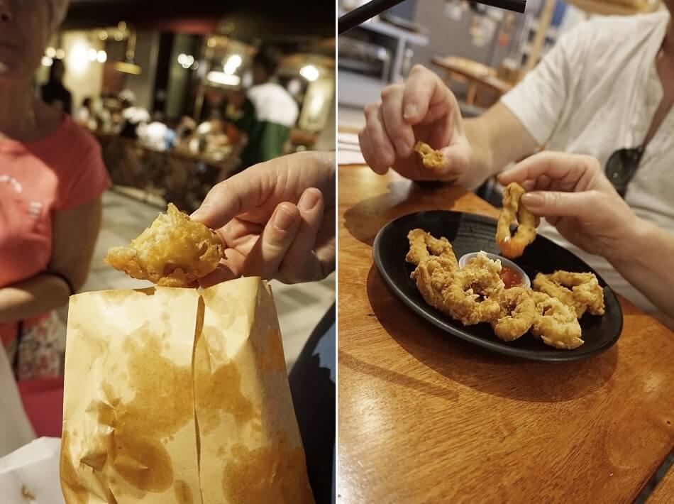 przekąski street food malezja atrakcje kuala lumpur