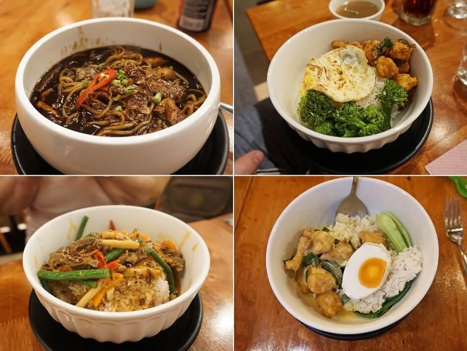 jedzenie w restauracji luala lumpur przykłady dań