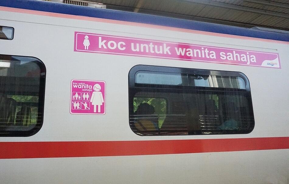 wagon dla kobiet w Kuala Lumpur