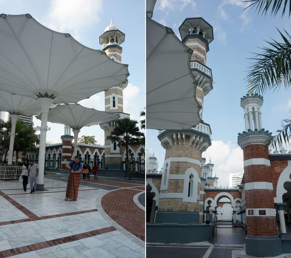 Meczet Jamek architektura