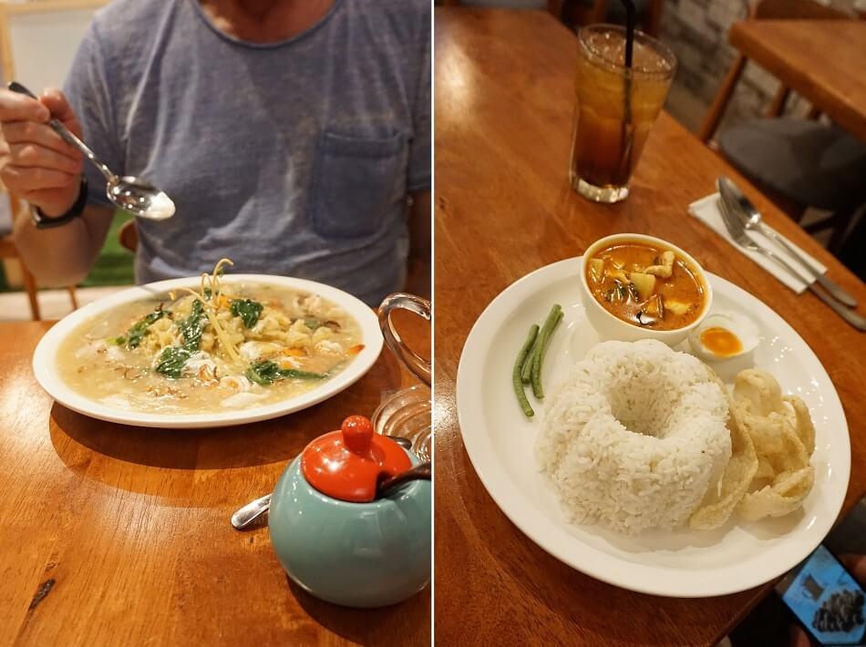 dania obiadowe, jedzenie, restauracja w kuala lumpur