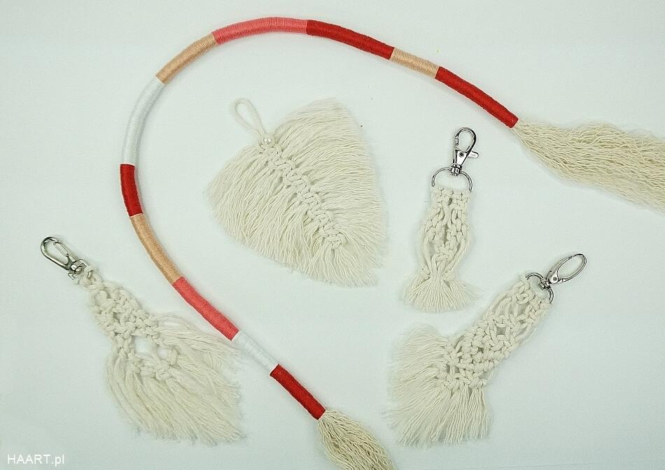 breloczek ze sznurka