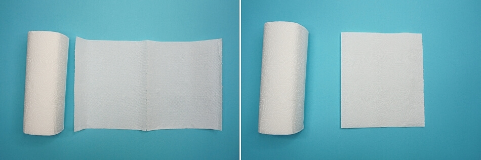 papierowa maseczka ochronna