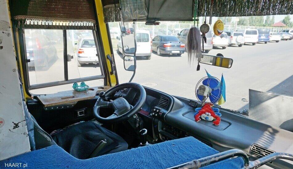 autobusy w Kijowie