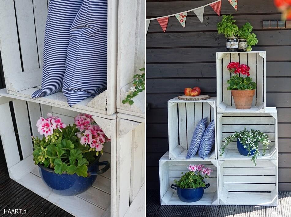 DIY na balkon doniczki z garnków