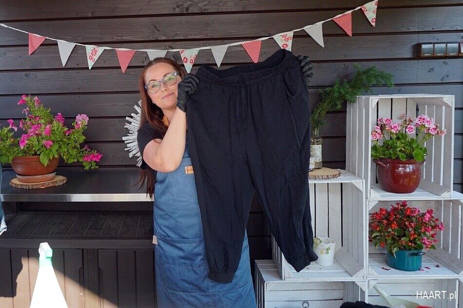 spodnie do farbowania