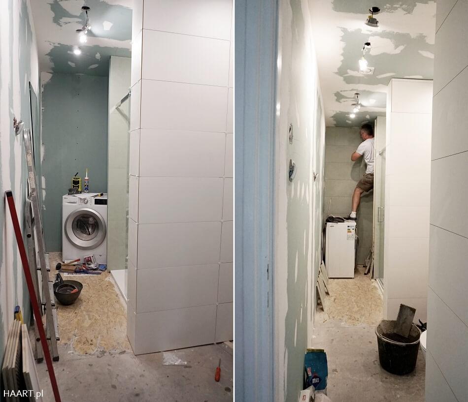 remont łazienki w drewnianym domu