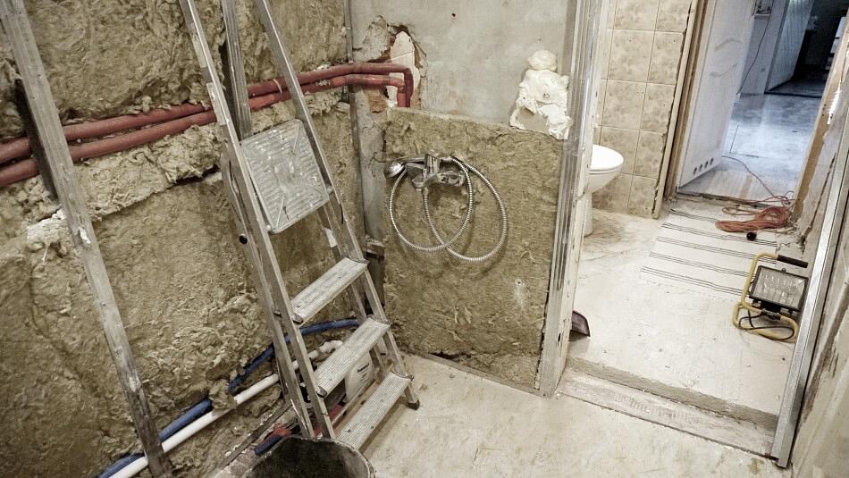 remont wąskiej łazienki