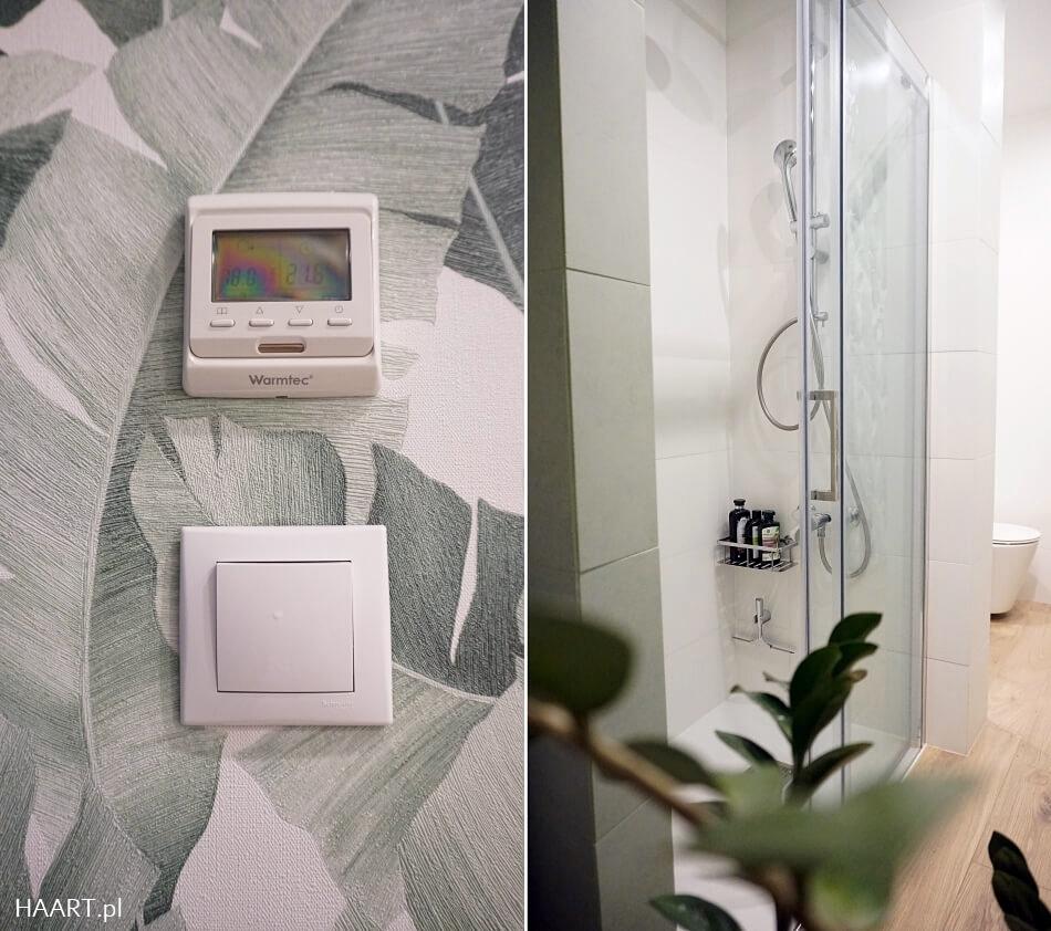 łazienka z płytkami Tubądzin