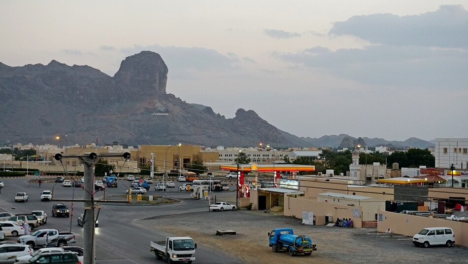 Oman samochodem osobowym