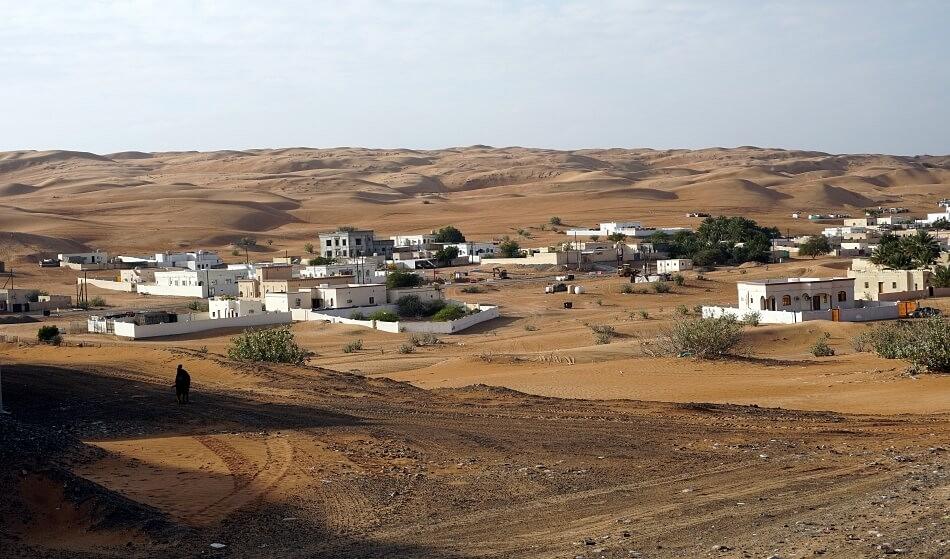 Pustynia w Omanie