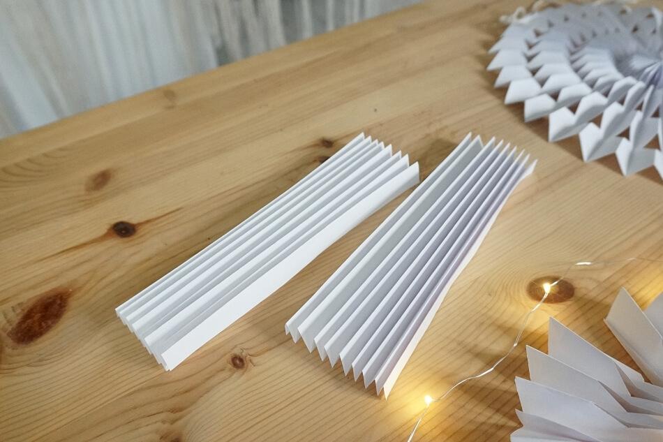 papierowe rozetki