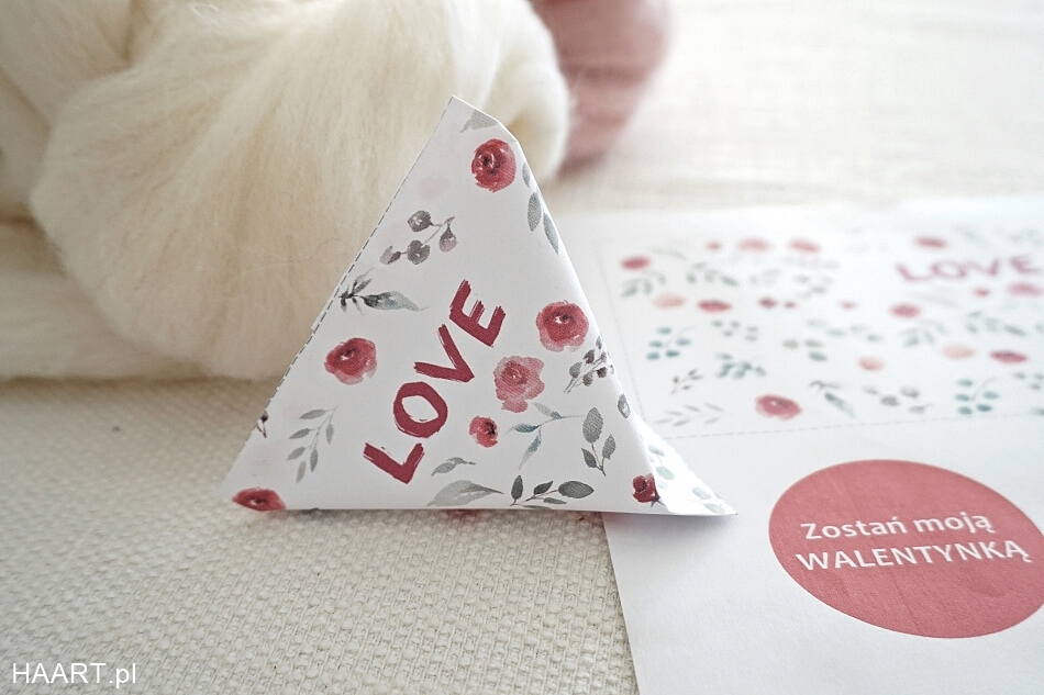 miłosne pudełko na Walentynki