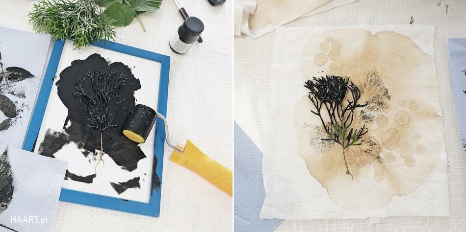 barwienie tkanin herbatą