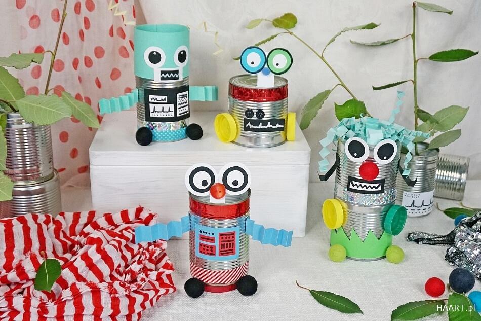 Zabawki z puszek